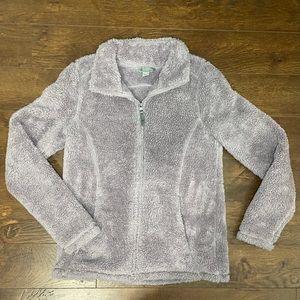 🧸Purple Sherpa Sweater/Jacket
